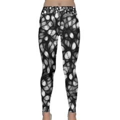 Chaos Decay Yoga Leggings by KirstenStar