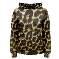 Crazy Beautiful Abstract Cheetah Abstract  Women s Pullover Hoodies by OCDesignss