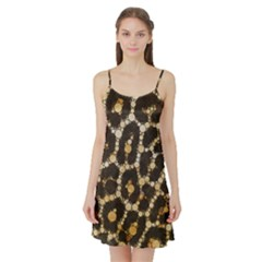 Crazy Beautiful Abstract Cheetah Abstract  Satin Night Slip by OCDesignss