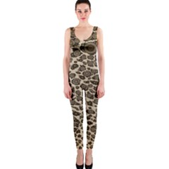 Brown Cheetah Abstract  Onepiece Catsuits by OCDesignss