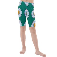 Daisy Pattern  Kid s Swimwear by theimagezone