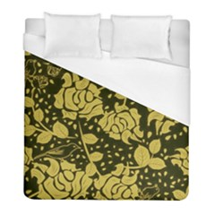 Floral Wallpaper Forest Duvet Cover Single Side (twin Size) by ImpressiveMoments