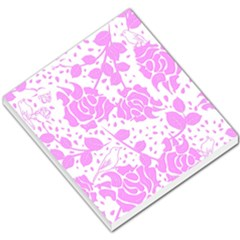 Floral Wallpaper Pink Small Memo Pads