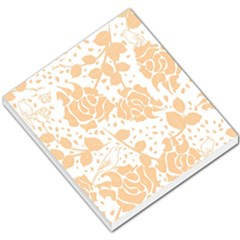 Floral Wallpaper Peach Small Memo Pads