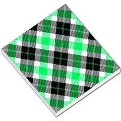 Smart Plaid Green Small Memo Pads
