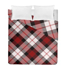 Smart Plaid Red Duvet Cover (twin Size) by ImpressiveMoments