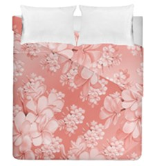 Delicate Floral Pattern,pink  Duvet Cover (full/queen Size) by MoreColorsinLife