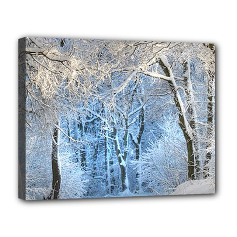 Another Winter Wonderland 1 Canvas 14  X 11  by MoreColorsinLife
