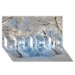 Another Winter Wonderland 1 Believe 3d Greeting Card (8x4)