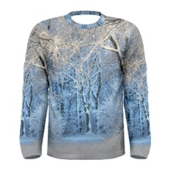 Another Winter Wonderland 1 Men s Long Sleeve T-shirts by MoreColorsinLife