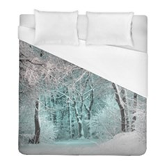 Another Winter Wonderland 2 Duvet Cover Single Side (twin Size) by MoreColorsinLife