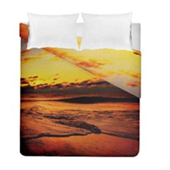 Stunning Sunset On The Beach 2 Duvet Cover (twin Size) by MoreColorsinLife