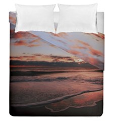 Stunning Sunset On The Beach 3 Duvet Cover (full/queen Size) by MoreColorsinLife