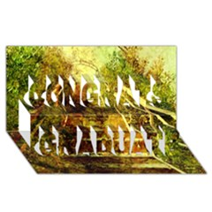 Up Stairs Congrats Graduate 3d Greeting Card (8x4)