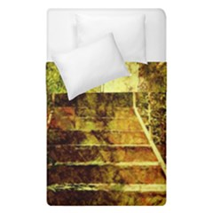 Up Stairs Duvet Cover (single Size) by MoreColorsinLife