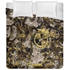 Metal Steampunk  Duvet Cover (double Size) by MoreColorsinLife
