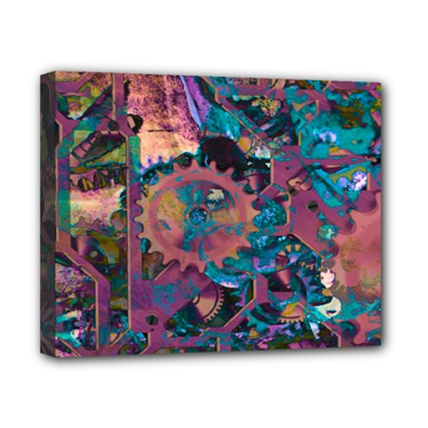 Steampunk Abstract Canvas 10  X 8  by MoreColorsinLife