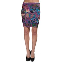 Steampunk Abstract Bodycon Skirts by MoreColorsinLife