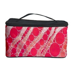 Florescent Pink Zebra Pattern  Cosmetic Storage Cases