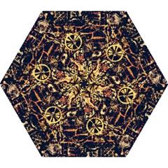 Steampunk 4 Mini Folding Umbrellas