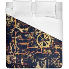 Steampunk 4 Duvet Cover Single Side (Double Size) by MoreColorsinLife