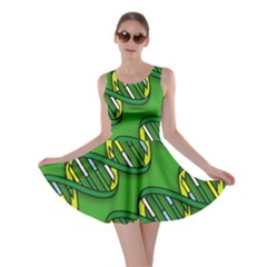 Dna Pattern Skater Dresses by ScienceGeek