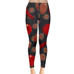 Blood Cells Women s Leggings by ScienceGeek
