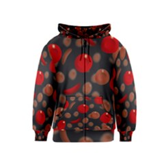 Blood Cells Kids Zipper Hoodies by ScienceGeek