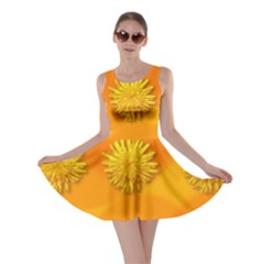Dandelion Pattern Skater Dresses by theimagezone