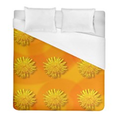 Dandelion Pattern Duvet Cover Single Side (twin Size) by theimagezone