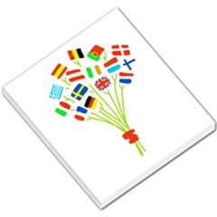 Flag Bouquet Small Memo Pads by theimagezone
