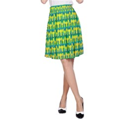 People Planet  A Line Skirts by theimagezone