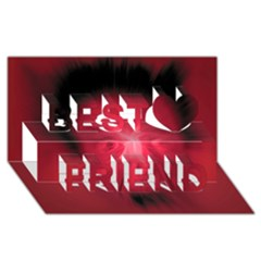 Scream Best Friends 3d Greeting Card (8x4)