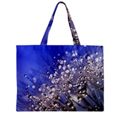 Dandelion 2015 0704 Zipper Tiny Tote Bags by JAMFoto