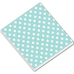 Blue And White Polka Dots Small Memo Pads
