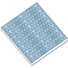 Geo Fun 7 Light Blue Small Memo Pads by MoreColorsinLife