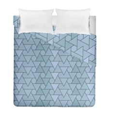 Geo Fun 7 Light Blue Duvet Cover (twin Size) by MoreColorsinLife