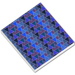 Geo Fun 7 Inky Blue Small Memo Pads