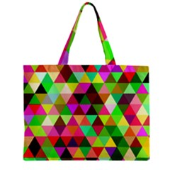 Geo Fun 07 Zipper Tiny Tote Bags