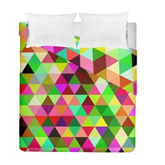 Geo Fun 07 Duvet Cover (twin Size) by MoreColorsinLife