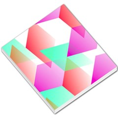 Geometric 03 Pink Small Memo Pads by MoreColorsinLife