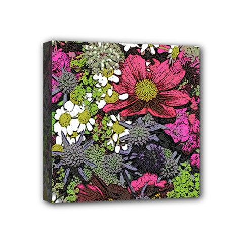 Amazing Garden Flowers 21 Mini Canvas 4  X 4  by MoreColorsinLife