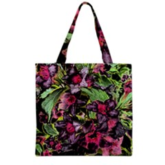 Amazing Garden Flowers 33 Grocery Tote Bags by MoreColorsinLife
