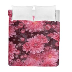 Awesome Flowers Red Duvet Cover (twin Size) by MoreColorsinLife