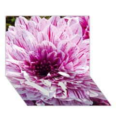 Wonderful Flowers Love Bottom 3d Greeting Card (7x5)  by MoreColorsinLife