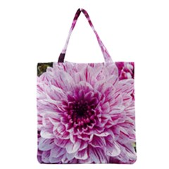 Wonderful Flowers Grocery Tote Bags