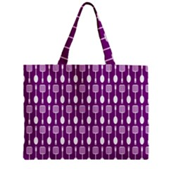 Magenta Spatula Spoon Pattern Tiny Tote Bags by creativemom
