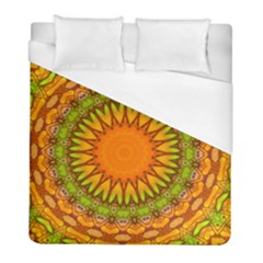 Kaleido Fun 07 Duvet Cover Single Side (twin Size) by MoreColorsinLife