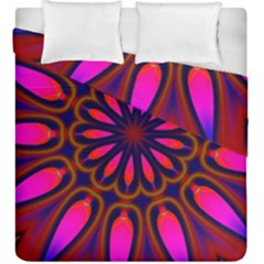 Kaleido Fun 06 Duvet Cover (king Size) by MoreColorsinLife