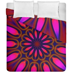 Kaleido Fun 06 Duvet Cover (double Size) by MoreColorsinLife